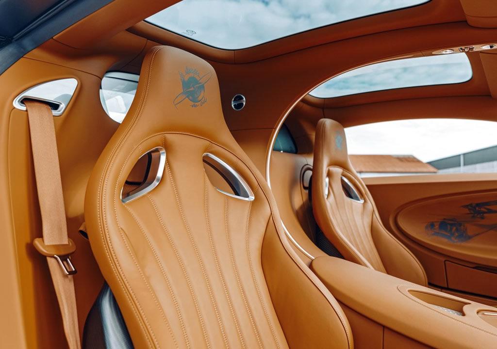 Yeni Bugatti Chiron Sport Les Legendes du Ciel 0-100 km/s