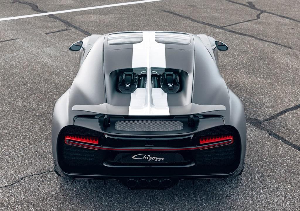Yeni Bugatti Chiron Sport Les Legendes du Ciel Özellikleri