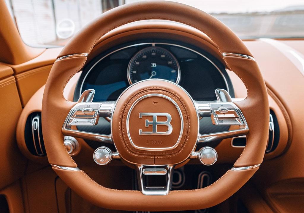 Yeni Bugatti Chiron Sport Les Legendes du Ciel Donanımları