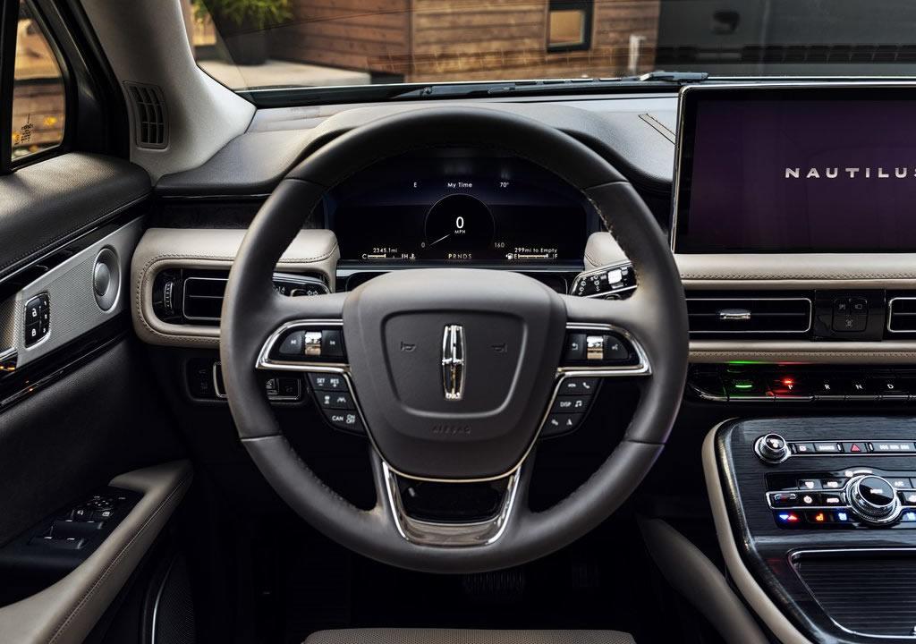 2021 Yeni Lincoln Nautilus İçi