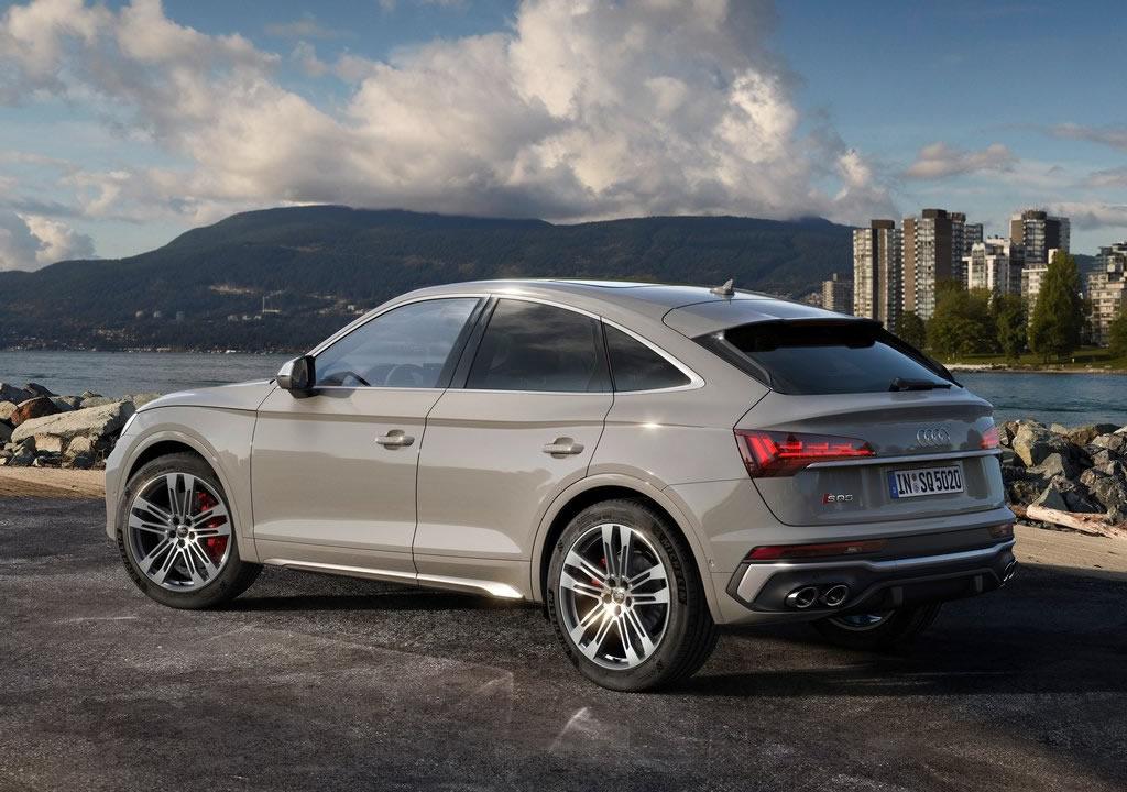 2021 Yeni Audi SQ5 Sportback TDI Türkiye