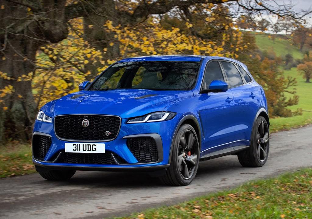 2021 Yeni Jaguar F-Pace SVR Özellikleri