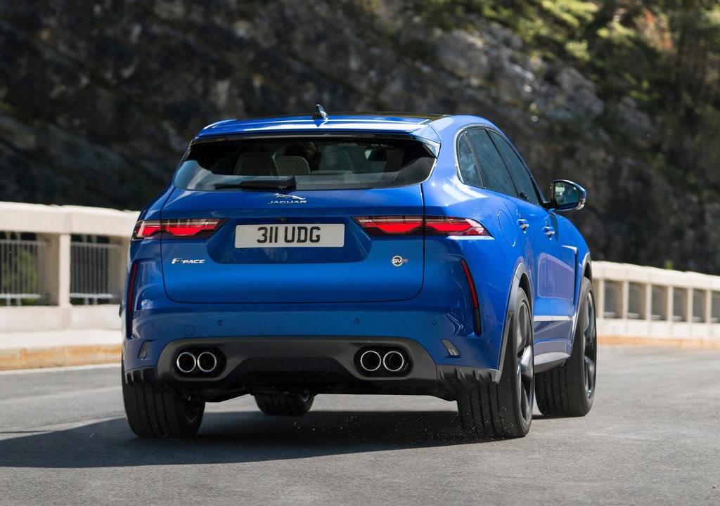 2021 Yeni Jaguar F-Pace SVR Türkiye