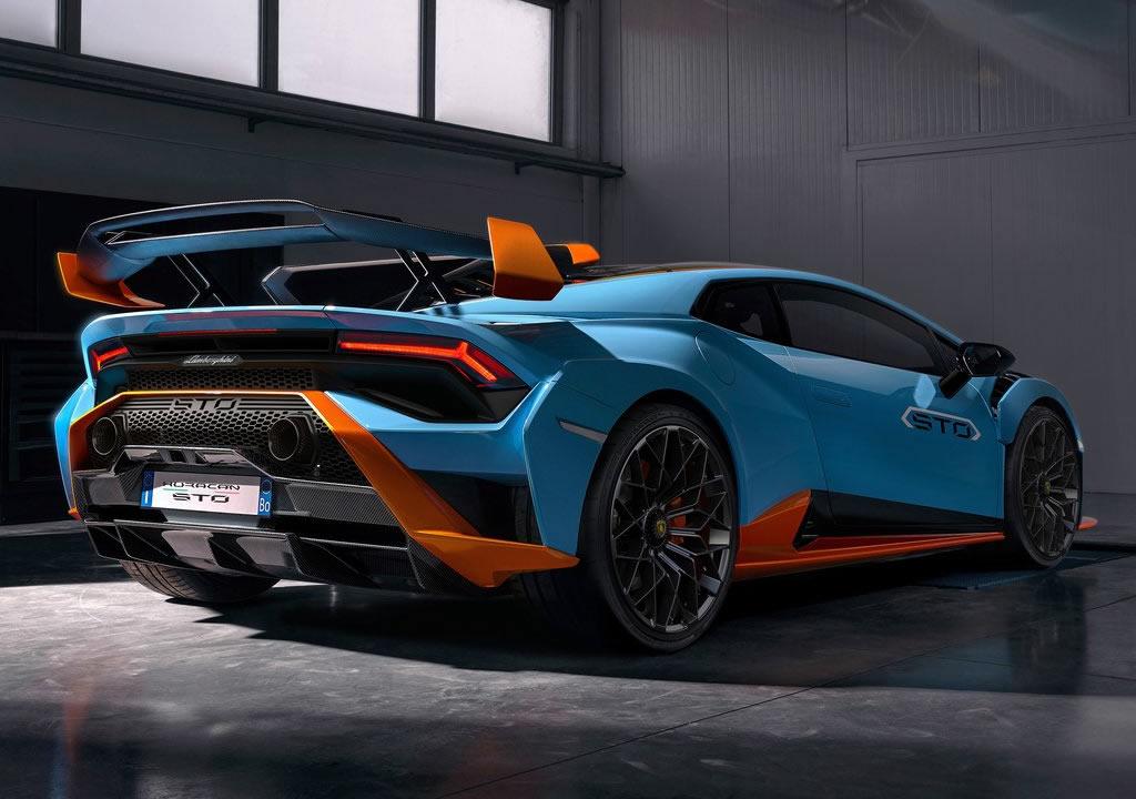 2021 Yeni Lamborghini Huracan STO