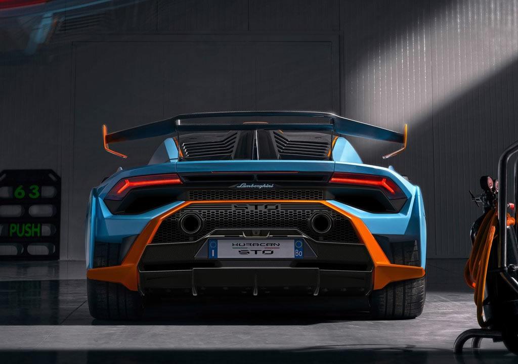 2021 Yeni Lamborghini Huracan STO Fotoğrafları