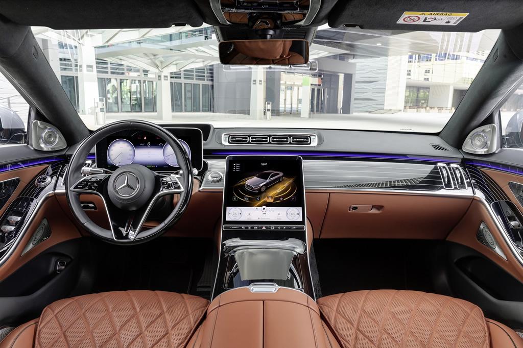 2021 Yeni Mercedes-Benz S Serisi Türkiye Donanımları
