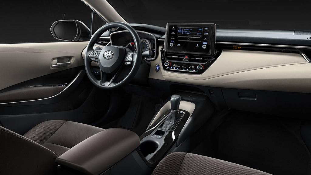 2021 Model Toyota Corolla Sedan Kokpiti