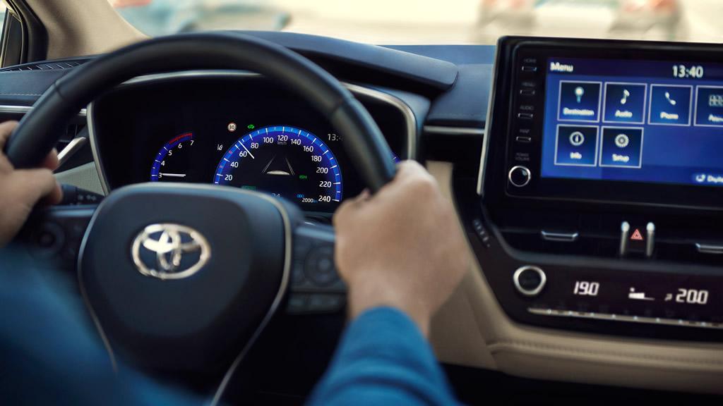 2021 Model Toyota Corolla Sedan İçi