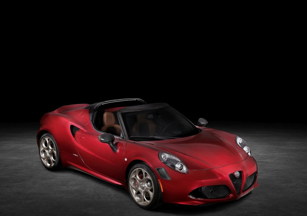 2021 Yeni Alfa Romeo 4C Spider 33 Stradale Tributo