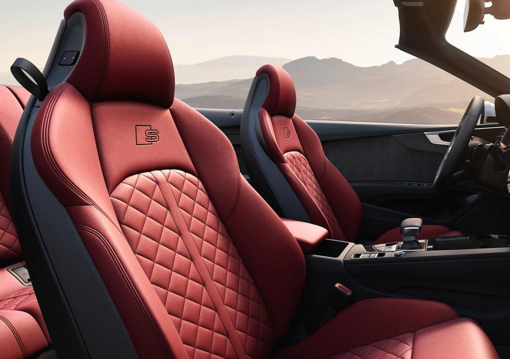 2021 Yeni Audi S5 Cabriolet Donanımları