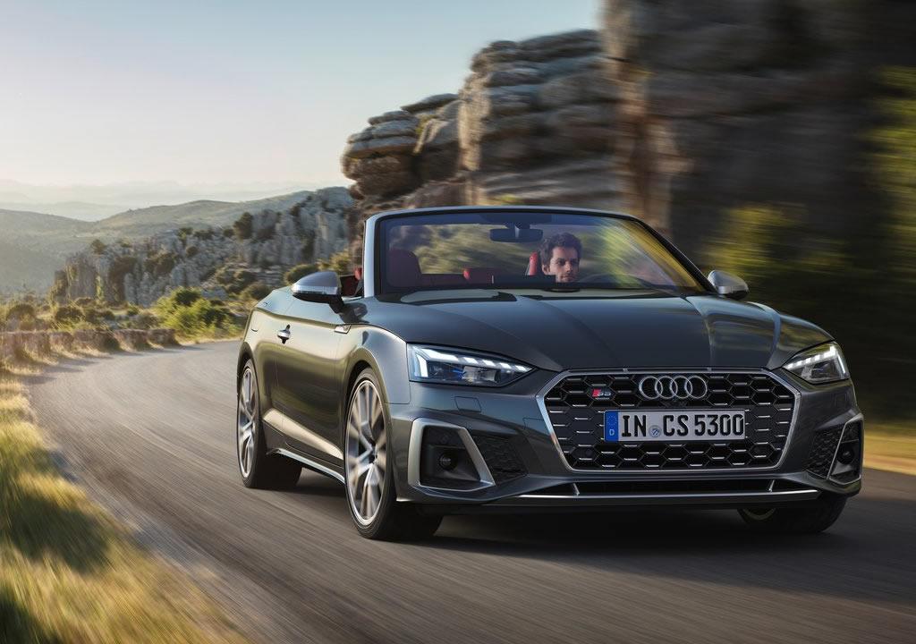 2021 Yeni Audi S5 Cabriolet TFSI
