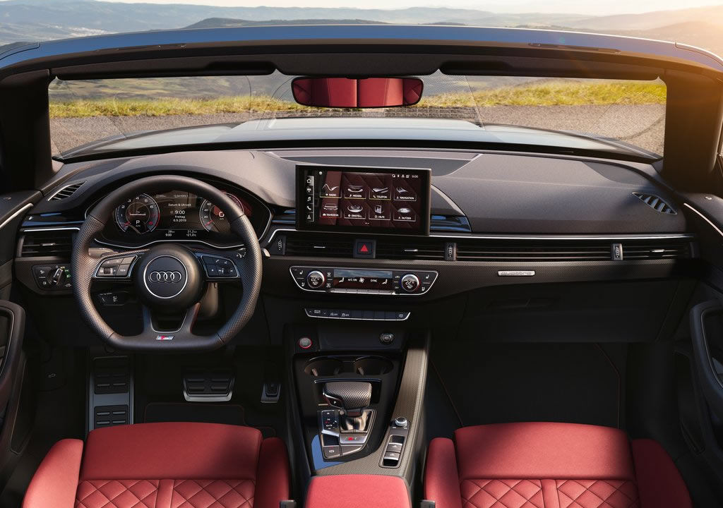 2021 Yeni Audi S5 Cabriolet Kokpiti