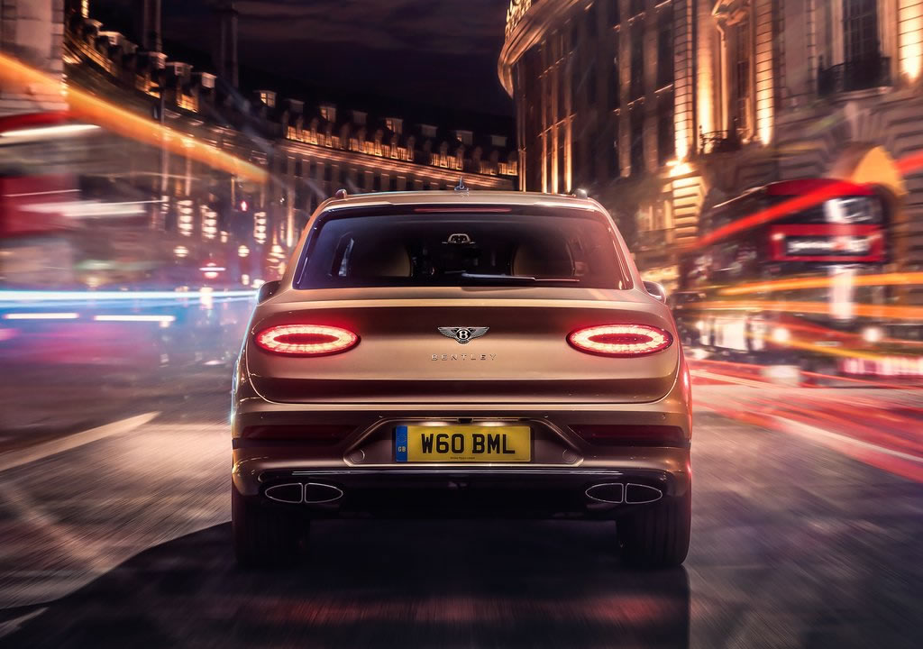 2021 Yeni Bentley Bentayga Hybrid Fotoğrafları