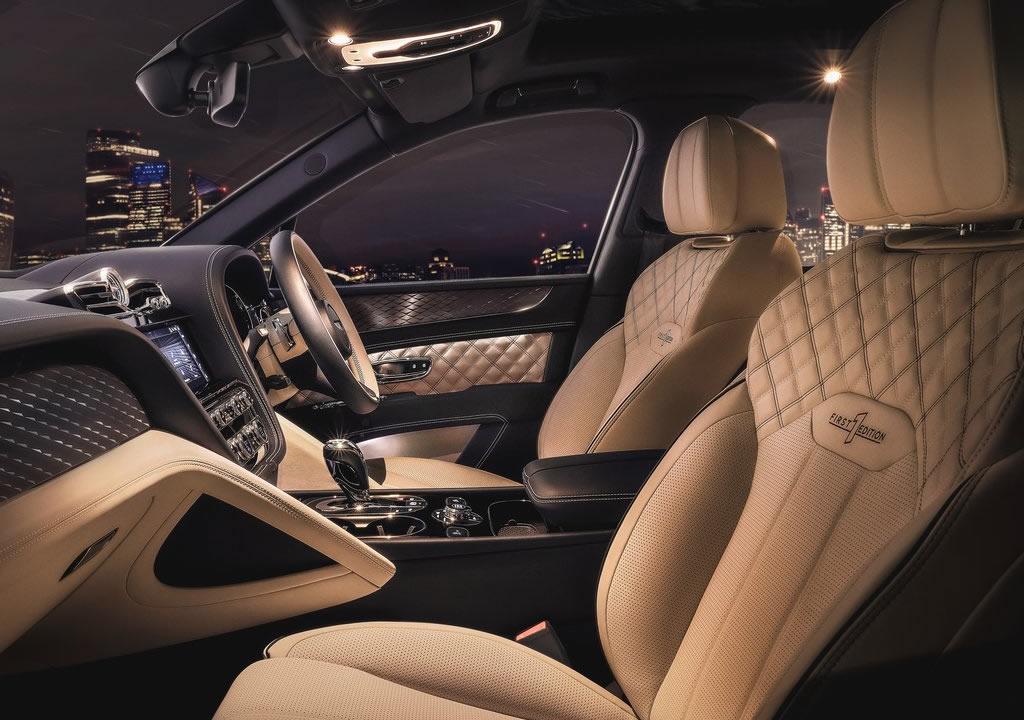 2021 Yeni Bentley Bentayga Hybrid İçi