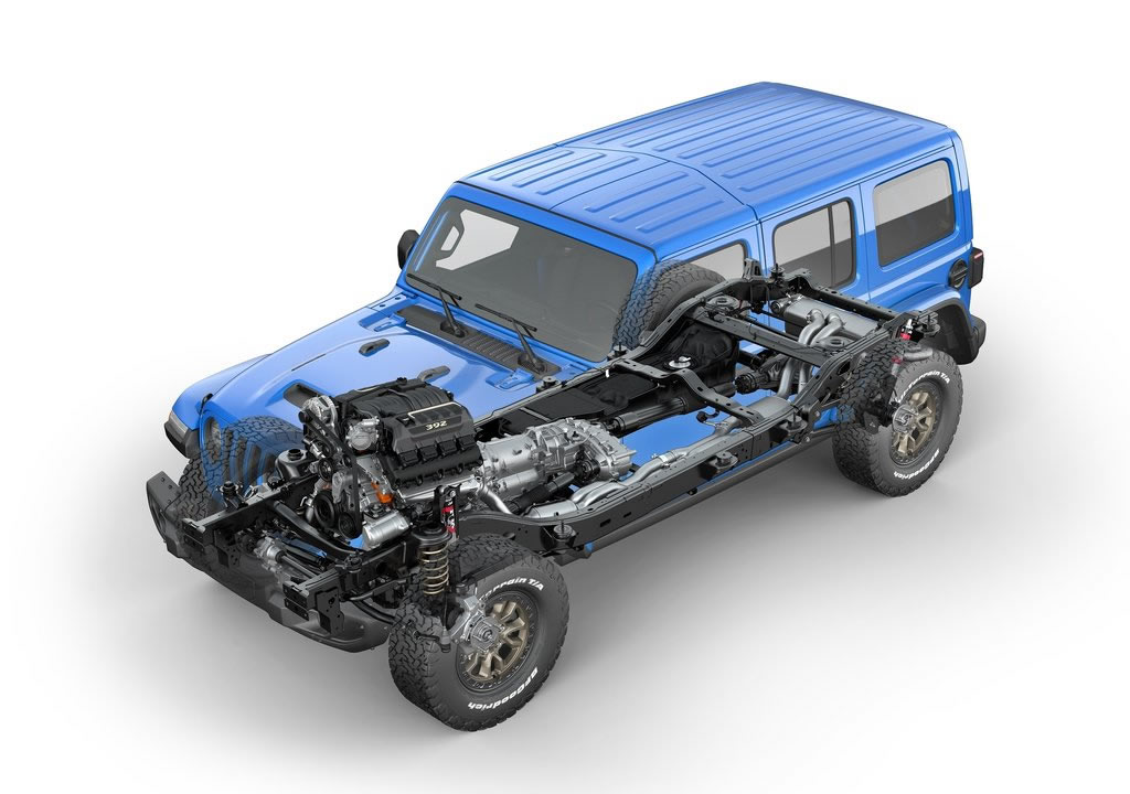 2021 Yeni Jeep Wrangler Rubicon 392 Kaç Beygir?