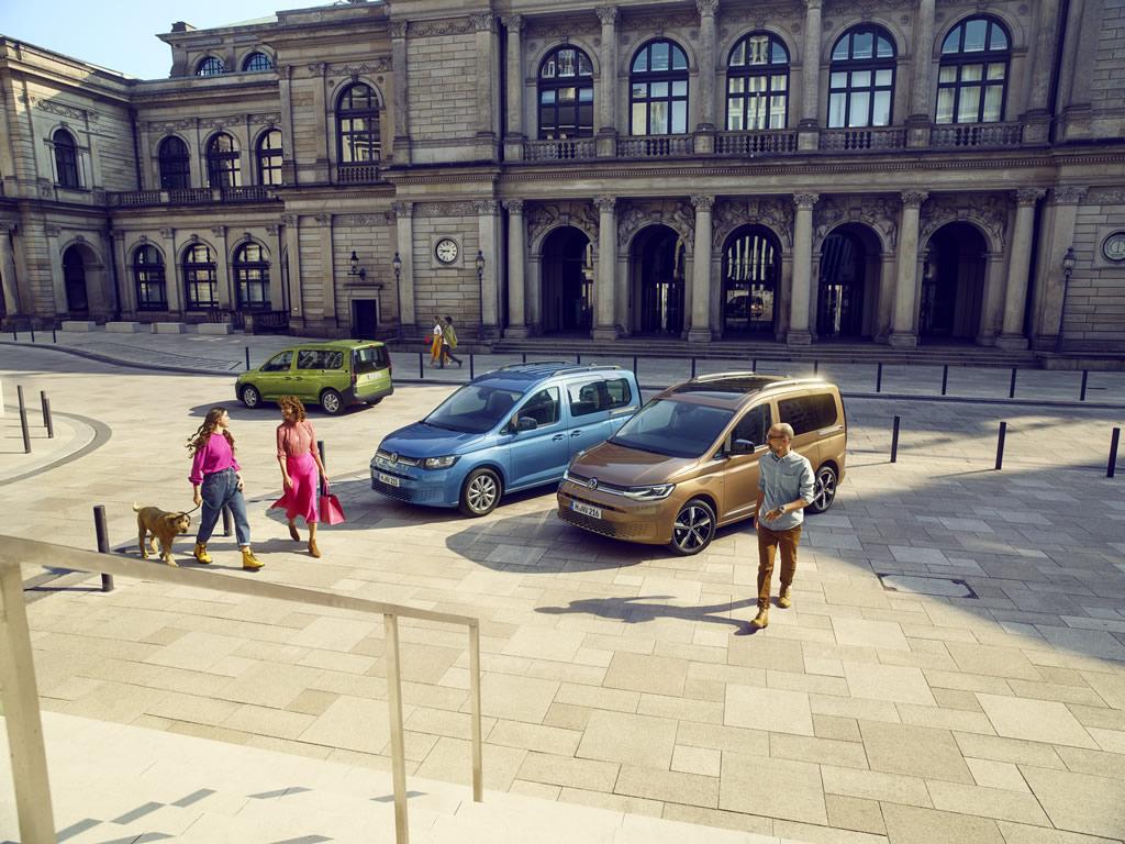 2021 Yeni Kasa Volkswagen Caddy Fotoğrafları