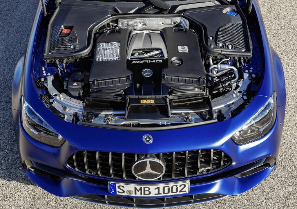 2021 Yeni Mercedes-AMG E63 S Estate Motoru