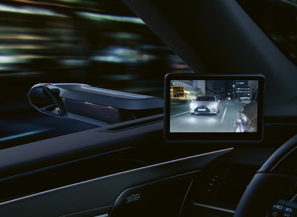 Dijital Aynalı Lexus