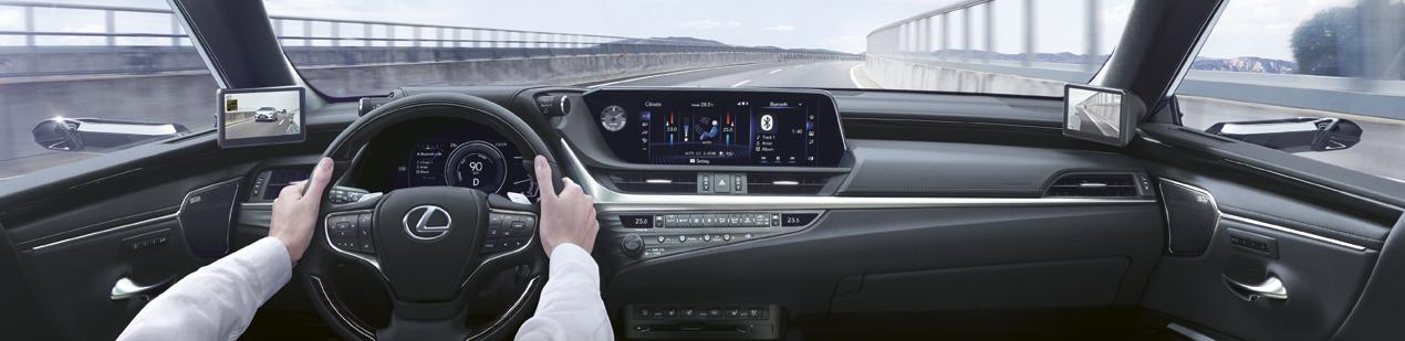 Dijital Aynalı Lexus ES 300h Exclusive Türkiye Fiyatı