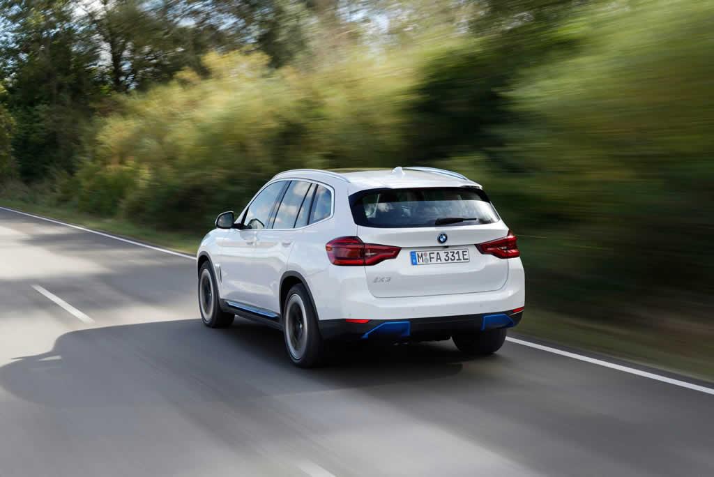 Yeni BMW iX3 Türkiye