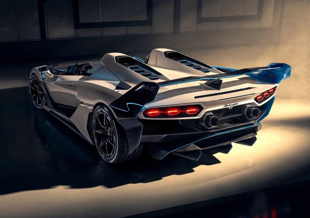 Yeni Lamborghini SC20 Özellikleri