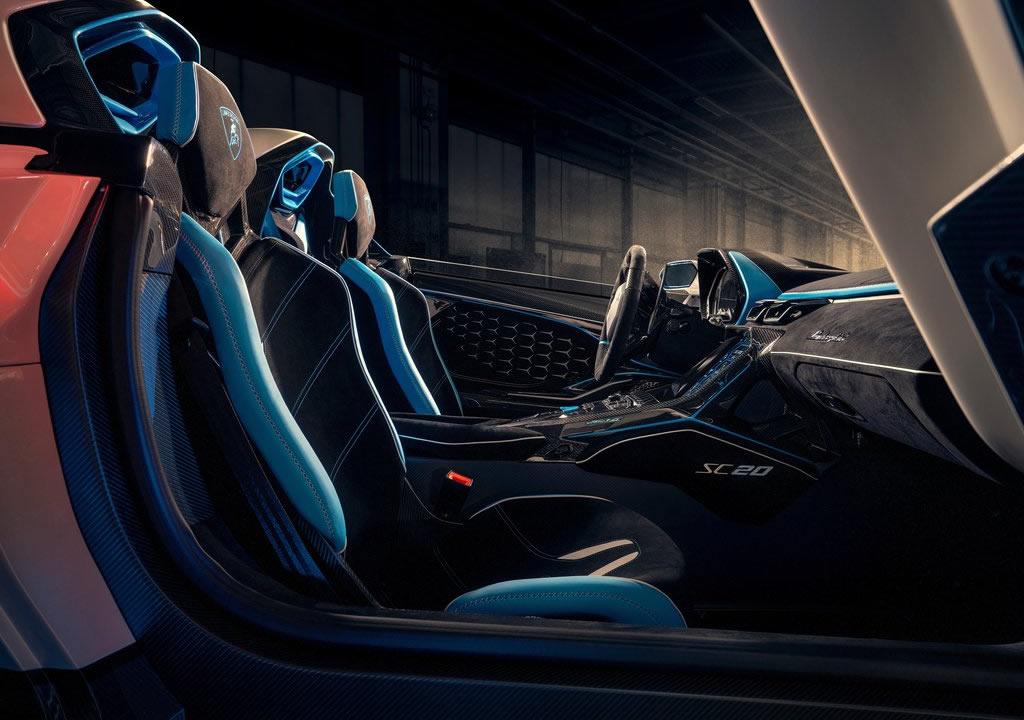 Yeni Lamborghini SC20 Kokpiti