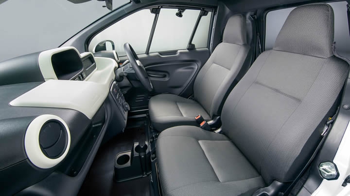 Elektrikli Toyota C+Pod Fotoğrafları
