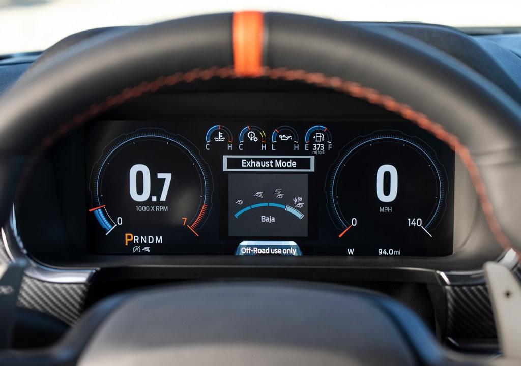 2021 Yeni Ford F-150 Raptor İçi