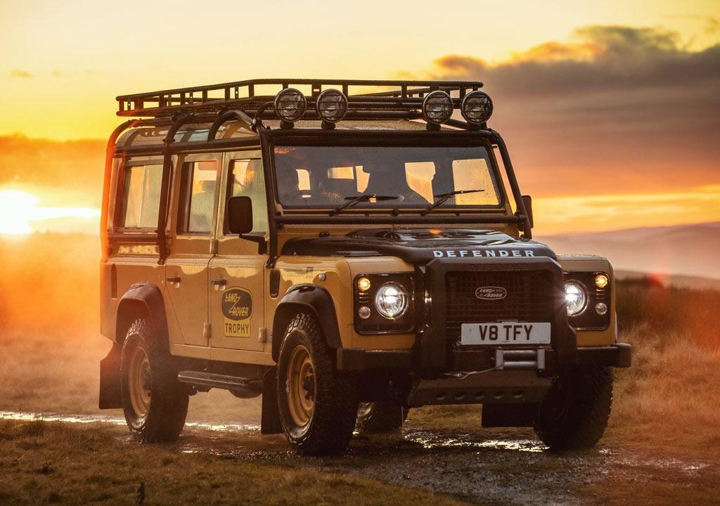 2021 Land Rover Defender Works V8 Trophy Özellikleri
