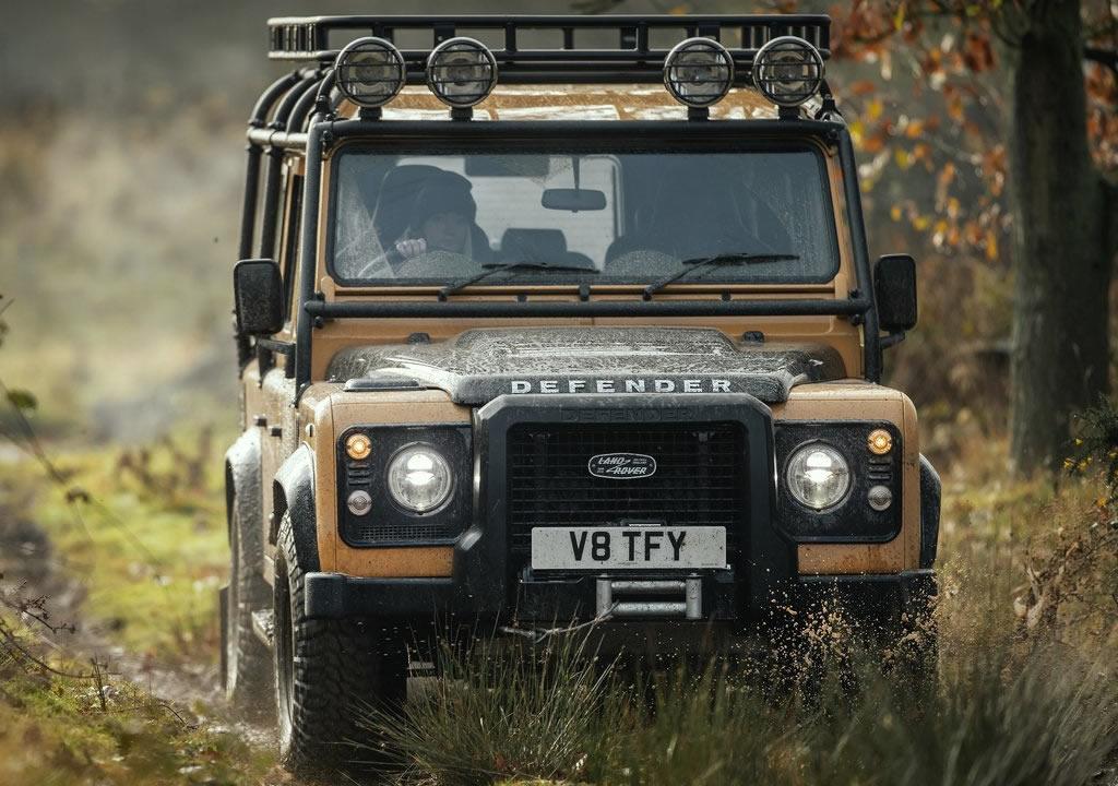 2021 Land Rover Defender Works V8 Trophy Fotoğrafları