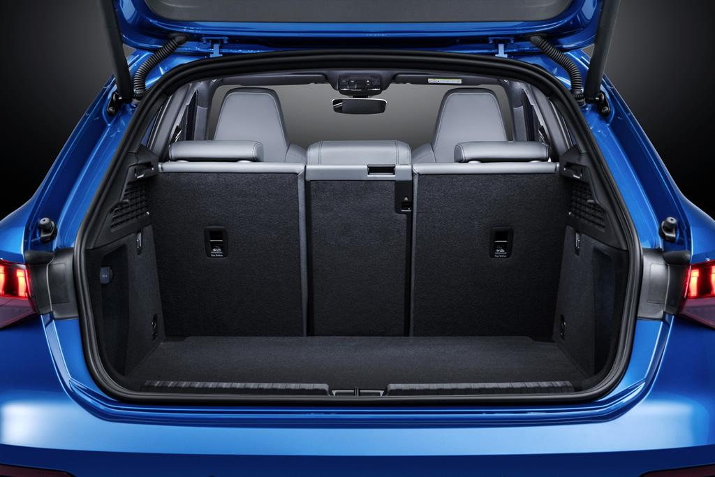2021 Yeni Kasa Audi A3 Sportback Bagaj Alanı