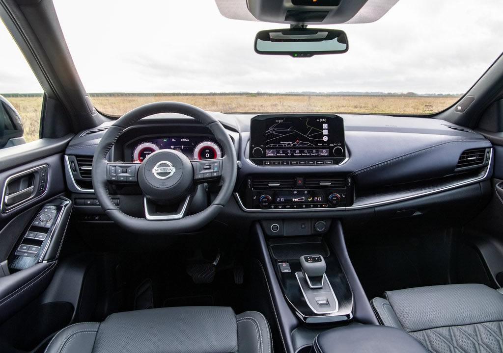 2022 Yeni Kasa Nissan Qashqai MK3 Kokpiti