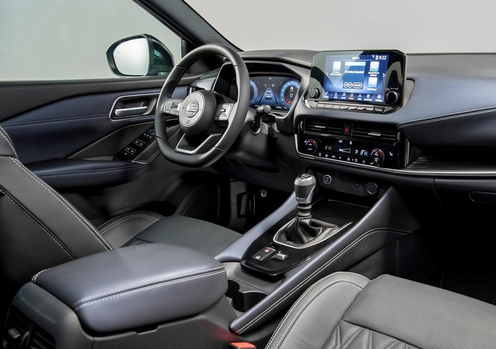 2022 Yeni Kasa Nissan Qashqai MK3 İçi