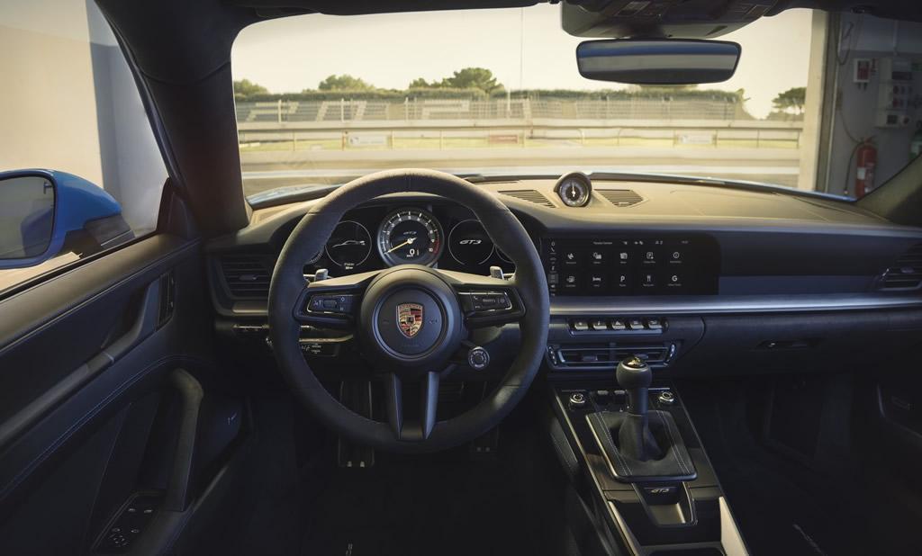 2022 Yeni Porsche 911 GT3 Kokpiti