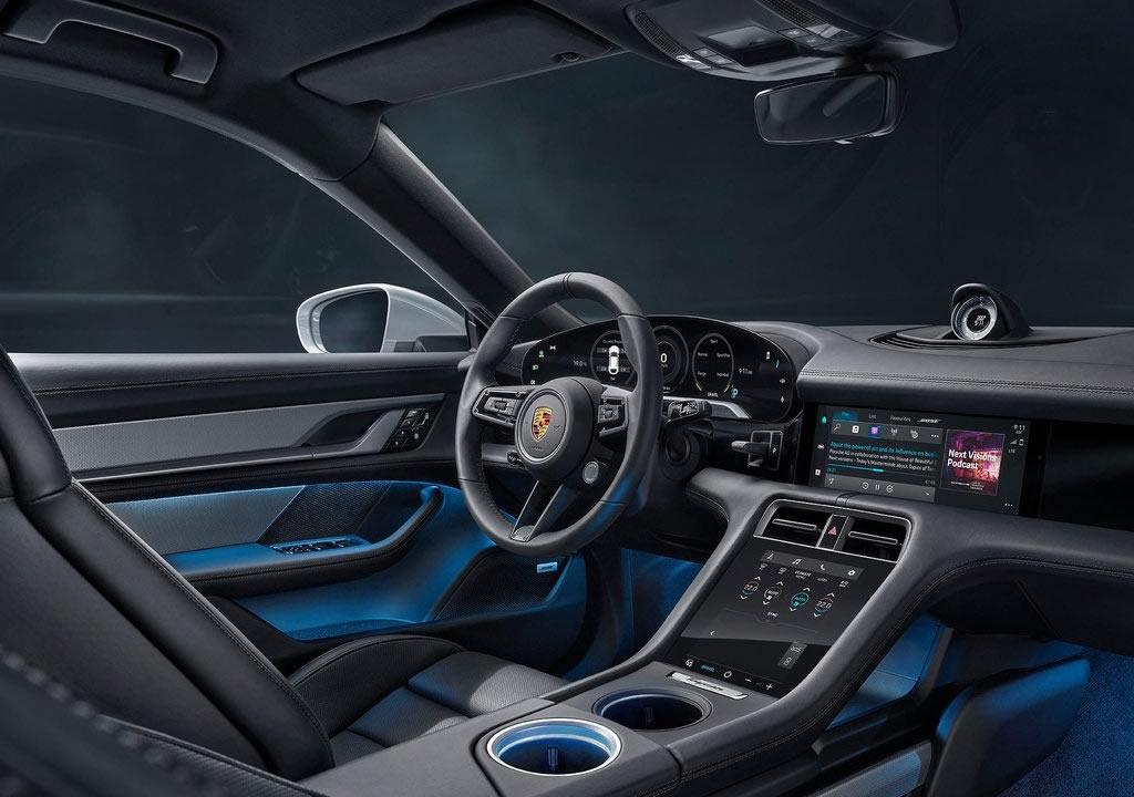2022 Porsche Taycan 4S Cross Turismo Kokpiti