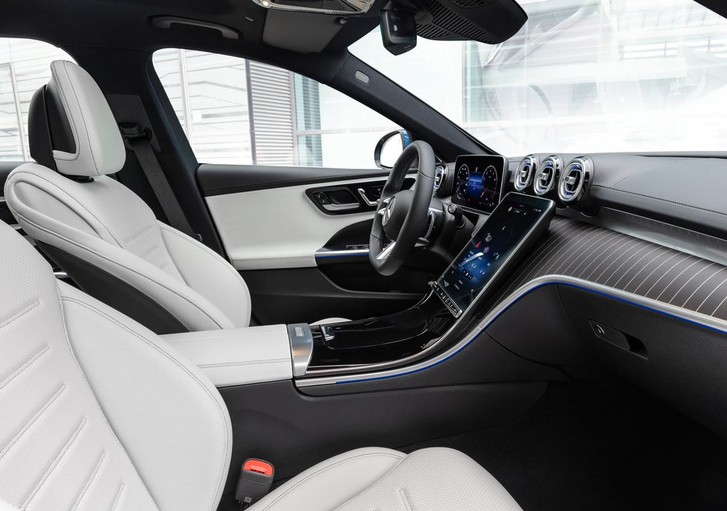 2022 Yeni Kasa Mercedes-Benz C-Serisi Estate İçi