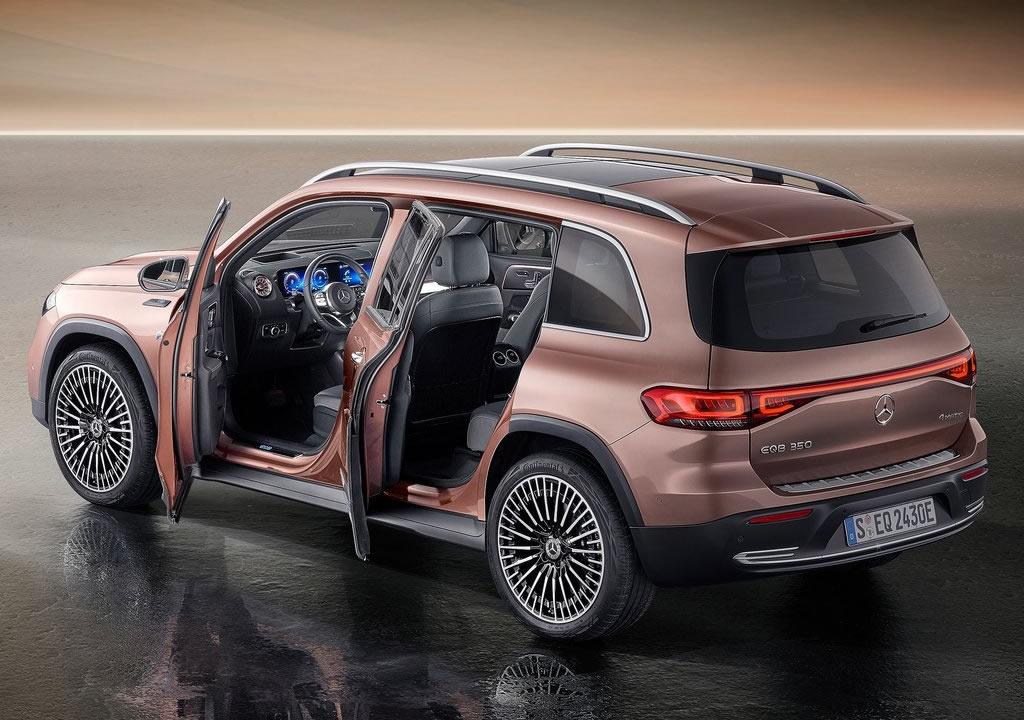 2022 Mercedes-Benz EQB Fotoğrafları