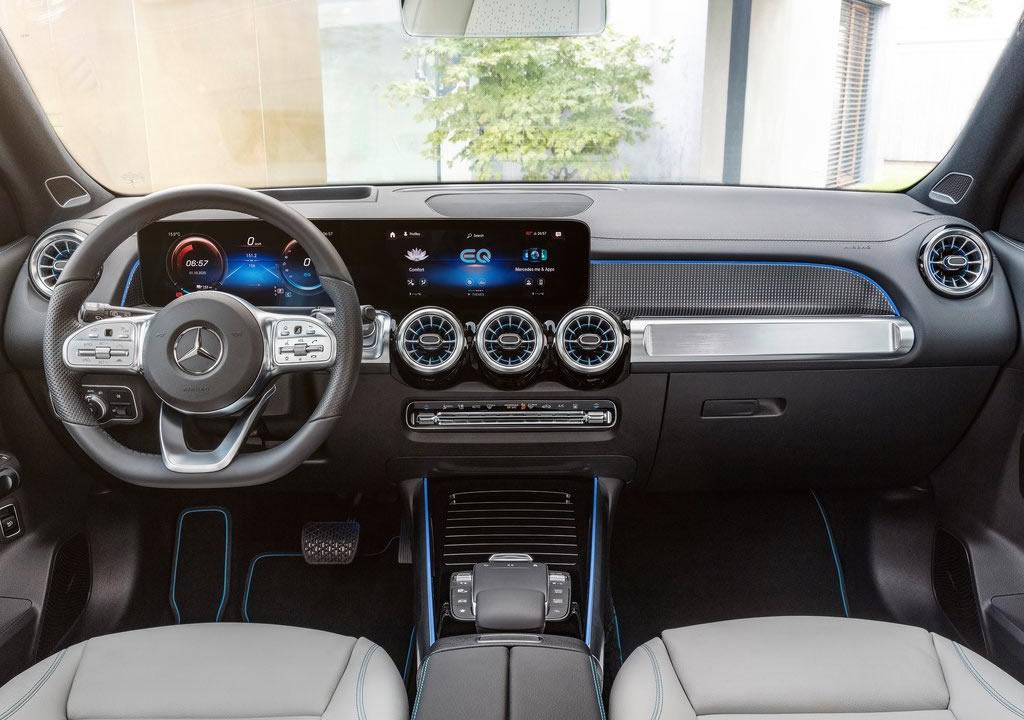 2022 Mercedes-Benz EQB Kokpiti