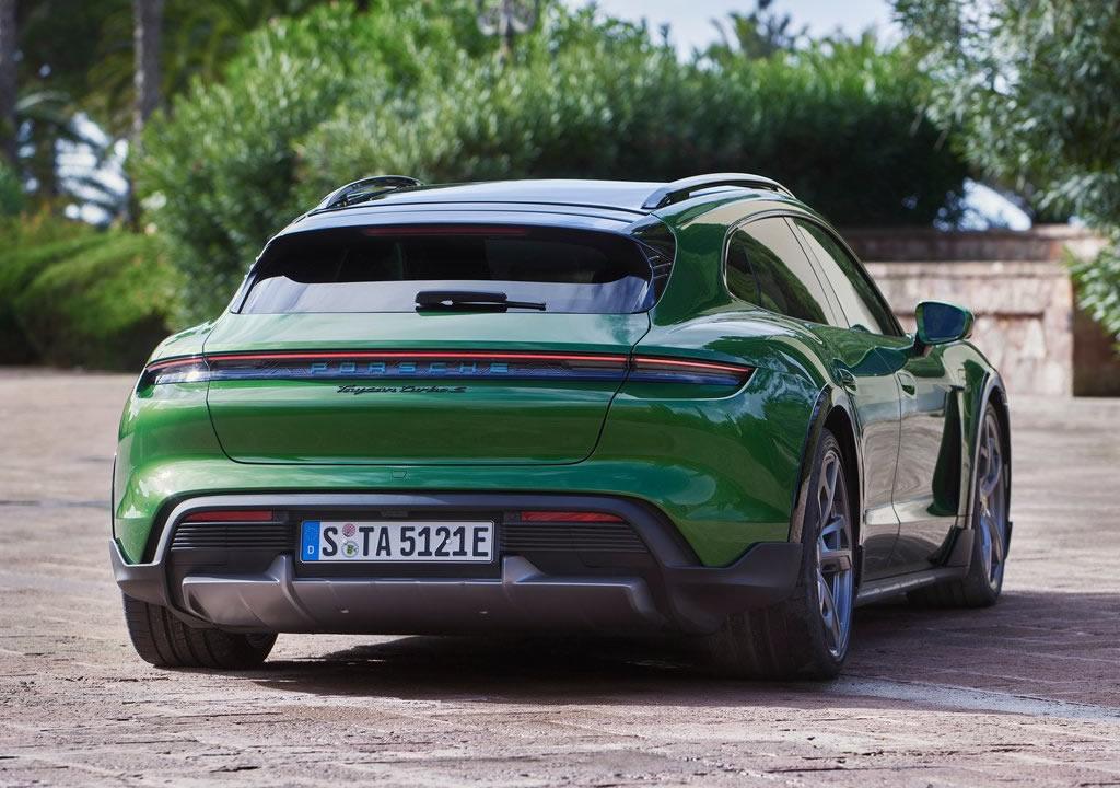 2022 Porsche Taycan Turbo S Cross Turismo Özellikleri