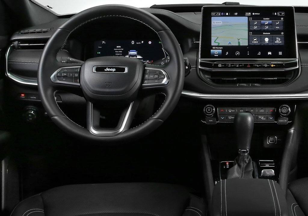 2022 Yeni Jeep Compass İçi