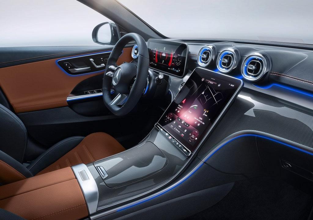 2022 Yeni Kasa Mercedes-Benz C Serisi Kokpiti