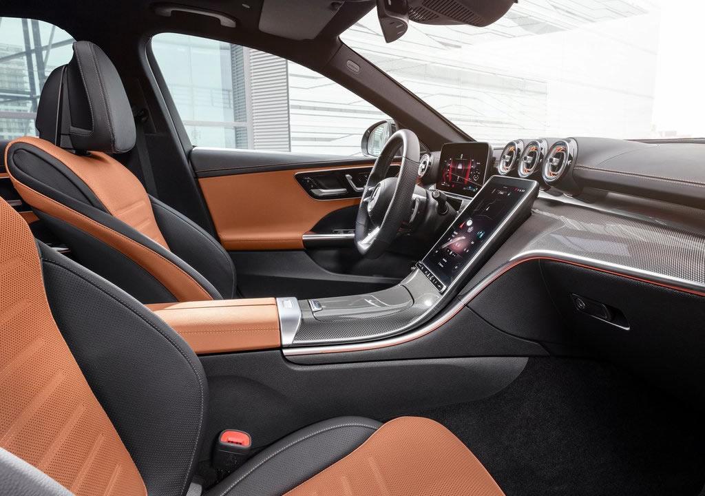2022 Yeni Kasa Mercedes-Benz C Serisi İçi