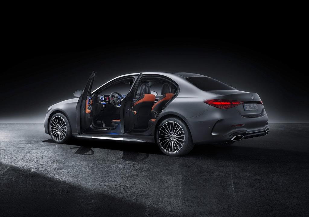 2022 Yeni Kasa Mercedes-Benz C Serisi Fotoğrafları