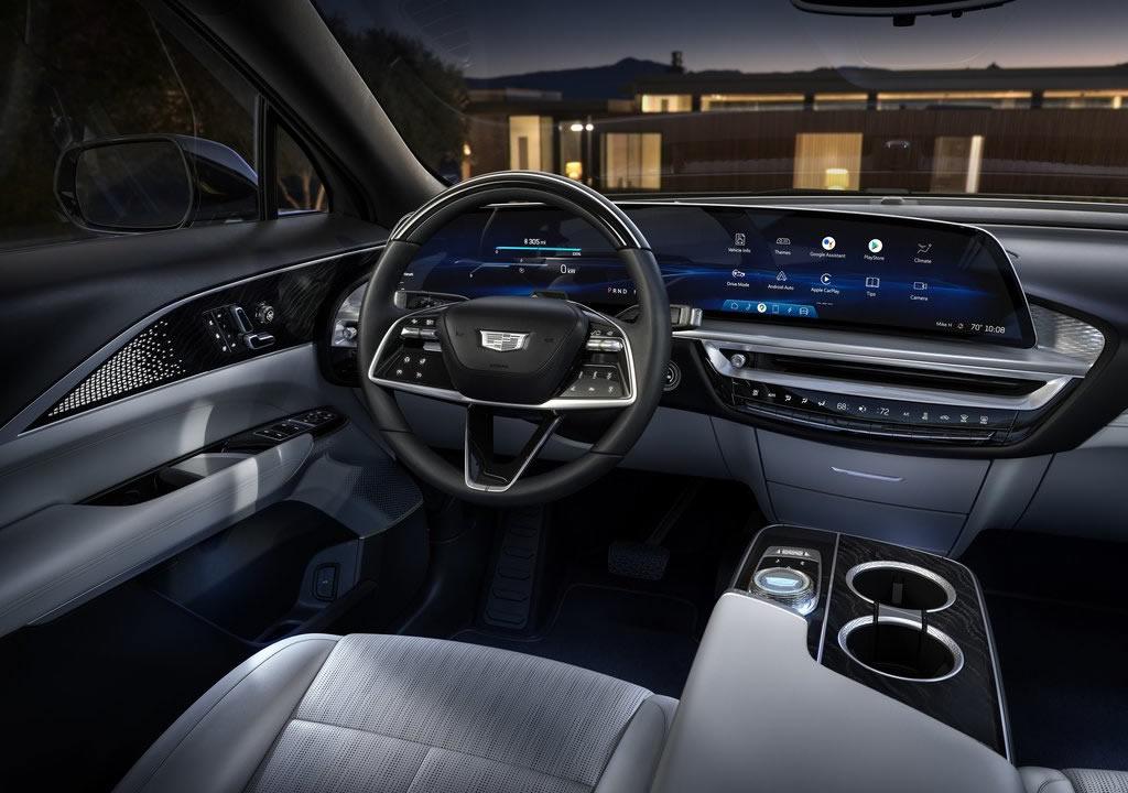 2023 Cadillac Lyriq Kokpiti