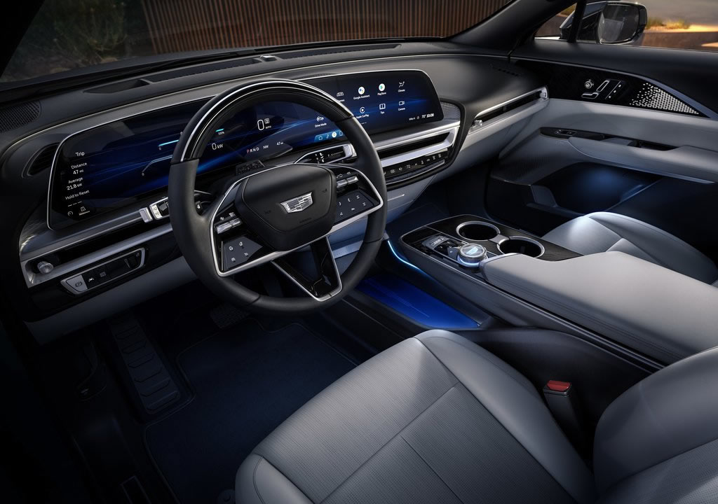 2023 Cadillac Lyriq İçi