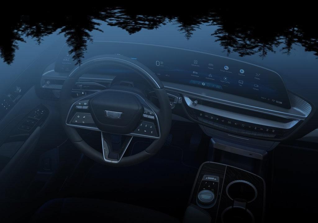 Cadillac Lyriq İçi