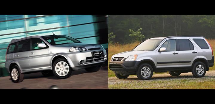 Honda HR-V ve CR-V Kardeşler