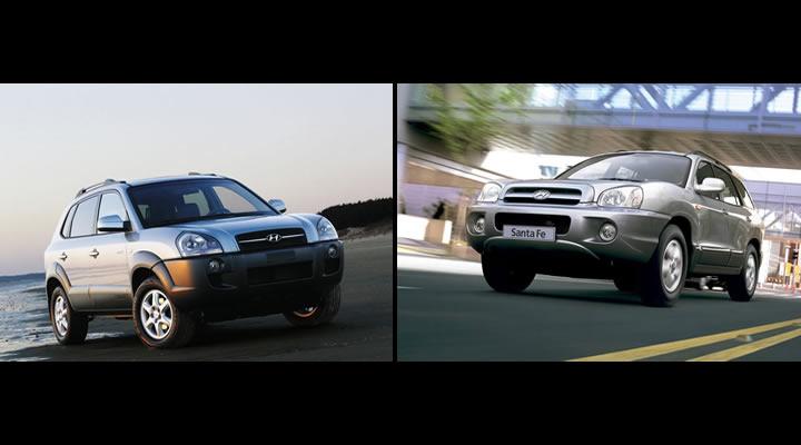 Hyundai Tucson ve Santa Fe Kardeşler