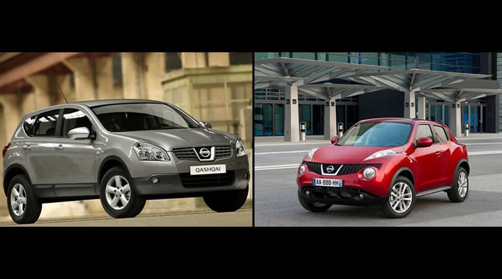 Nissan Qashqai ve Juke Kardeşler