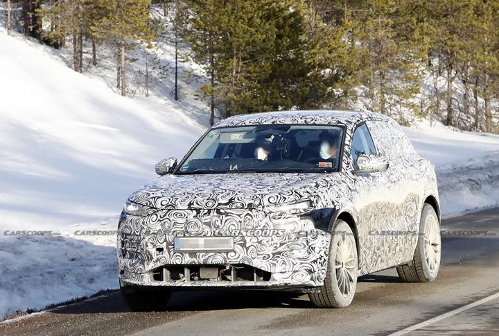 Elektrikli 2023 Audi Q6 e-tron